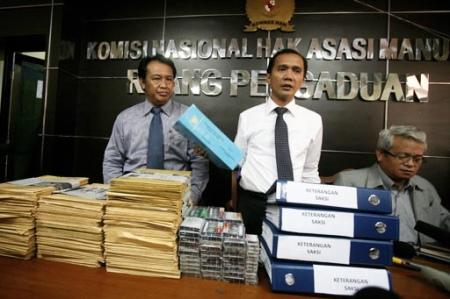Komnas HAM report launch, Jakarta, July 2012.