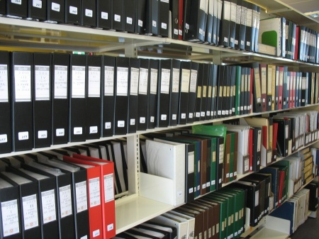 Labelled folders: Chronologies, compilations, indexes, correspondence and much more.