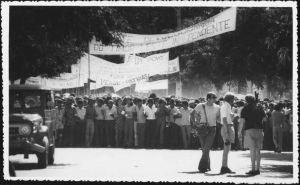 IMAGE A: FRETILIN rally. 1975?