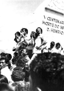 IMAGE B: Fretilin rally. 1975?